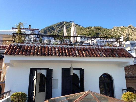 Lina Ryad & Spa : Terrace