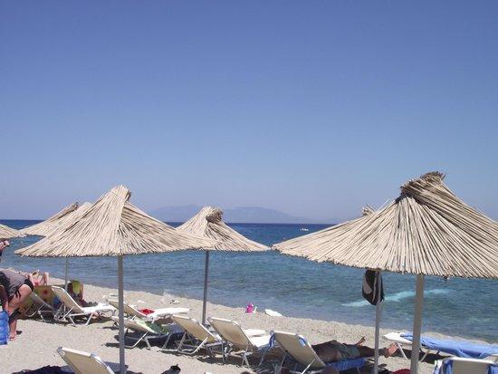 Akti Beach Club Hotel: la plage