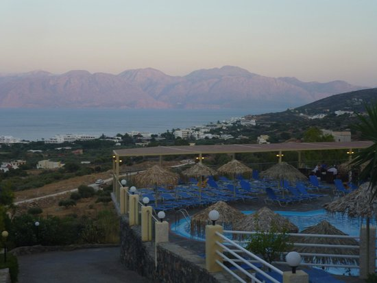 Elounda Residence: Some beauitful sunsets