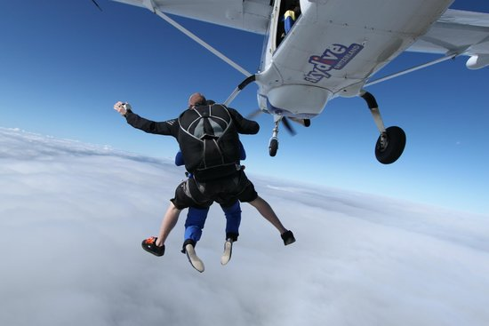 Skydive Switzerland - Scenic Air AG : on top of the world