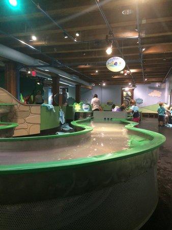 Boston Children's Museum: Water area