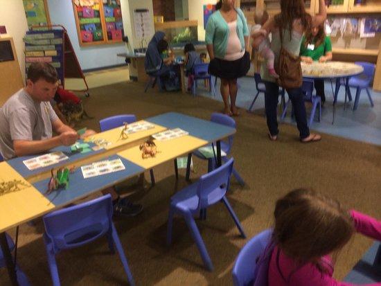 Boston Children's Museum: Kindergarten room