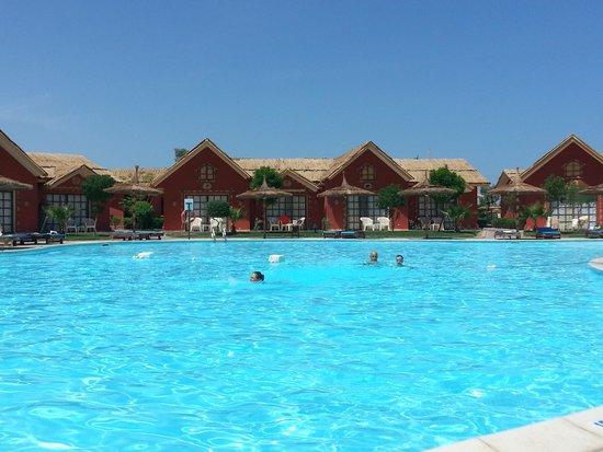 Jungle Aqua Park : pool vieuw