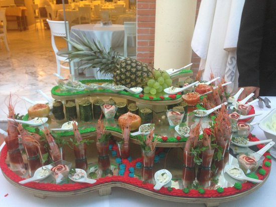 Hotel Atlantic Palace: Gala Buffet