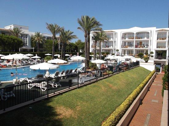 Inturotel Sa Marina: Aussicht vom Balkon 1.Etage