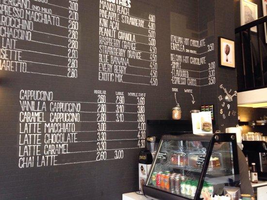 Moods Coffee Corner: Nice coffee and chocolate!