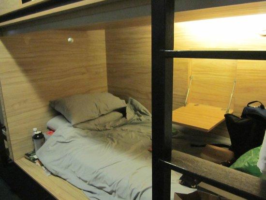 The Pod - Boutique Capsule Hostel: My pod
