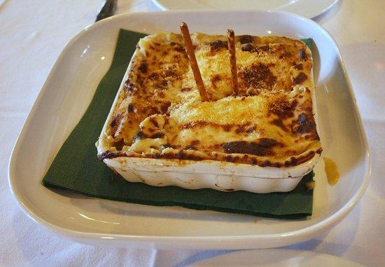 Garbatella: Lasagna de verduras