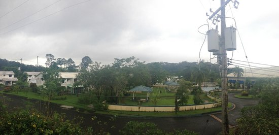 Forest View Leisure Residences: Gloomy day, gloomy view