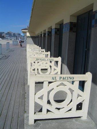Plage de Deauville : Deauville Beach