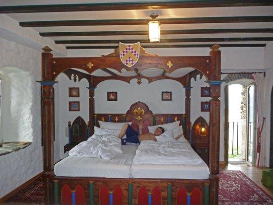 Hotel Burg Liebenstein: super Zimmer