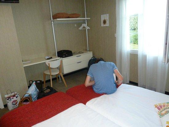 L'Auberge de Moricq : bedroom