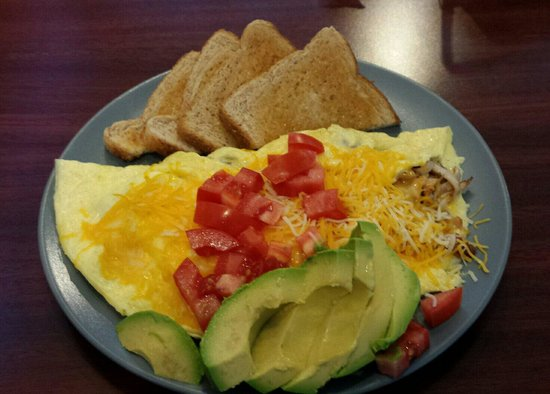 Big Poppa's Cafe on Main: James Brown with an added side of avacado