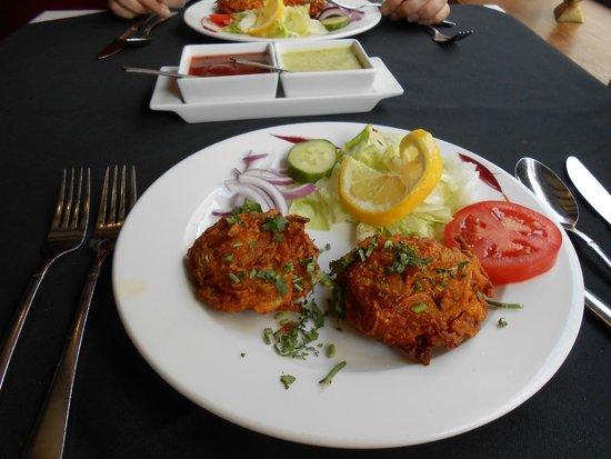 Bombay Spice: Onion Bhaji