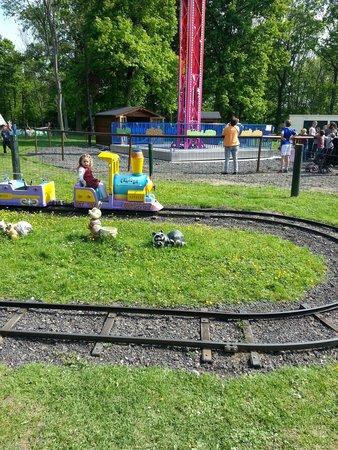 Parc Babyland : le petit train