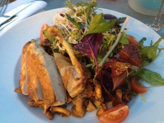 Henricus: Salad with chicken