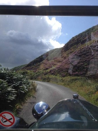 down hill but brakes work - Picture of Vintage Adventure Tours