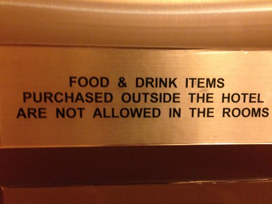 Century Kuching Hotel: Dumbest rule I have ever heard of!