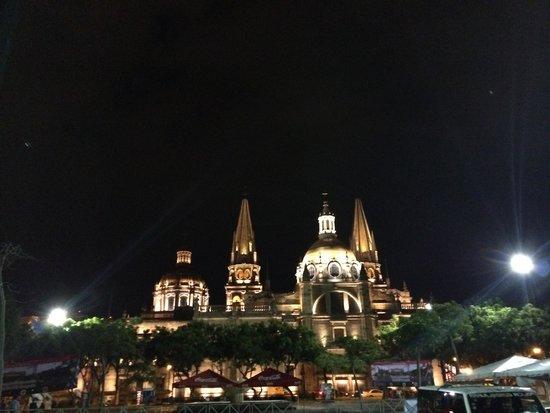 Catedral: Vista nocturna