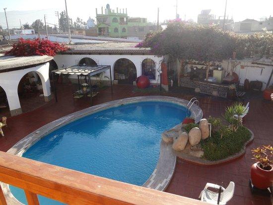 Hotel Don Agucho: Central area