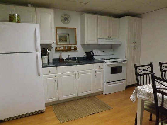 Sunnybrook Farm Garden-level Guest Suite: Fully equipped modern kitchen