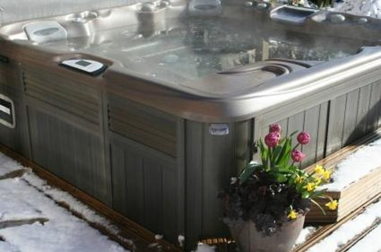 Sunnybrook Farm Garden-level Guest Suite: Hot tub