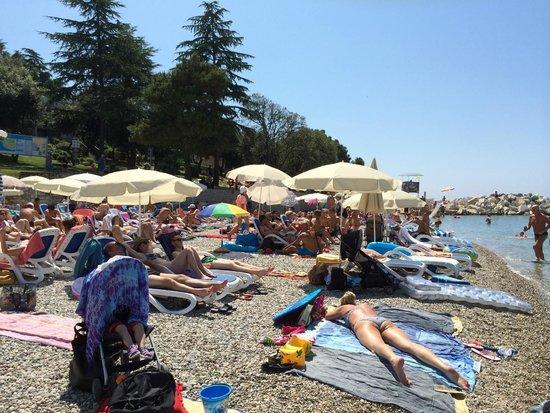 Hotel Pineta: Spiaggia