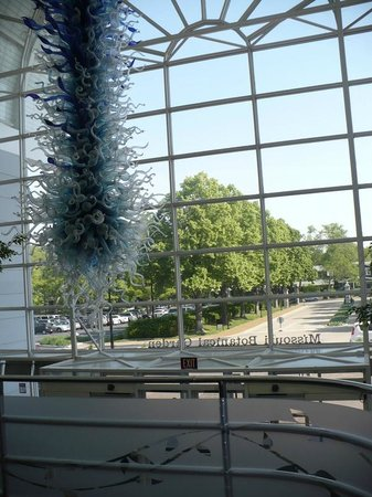 Missouri Botanical Garden: enchanting glass sculpture