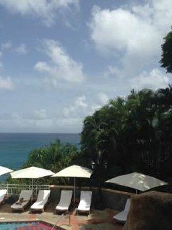 Sandals Regency La Toc Golf Resort and Spa : View from Armando's Italian restaurant