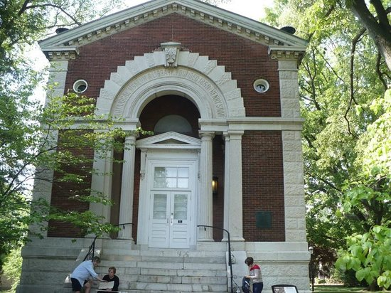 Missouri Botanical Garden: the library building