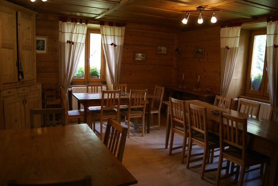 L'Anatase: Dining room