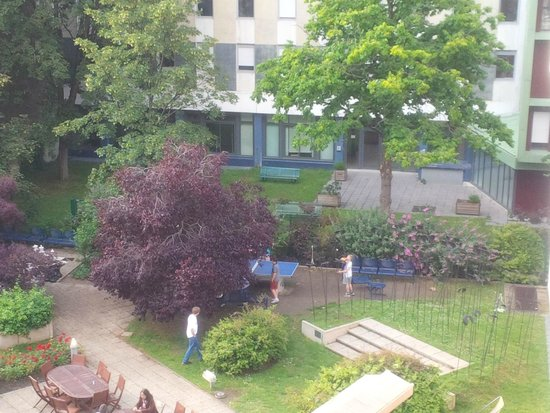 FIAP Jean Monnet: View from our room