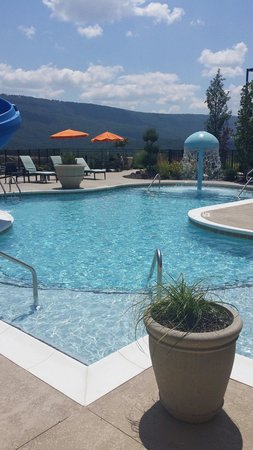 Hampton Inn Chattanooga West/Lookout Mountain: Refreshing pool