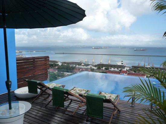 Aram Yami Hotel : Plus belle vue depuis l'hôtel