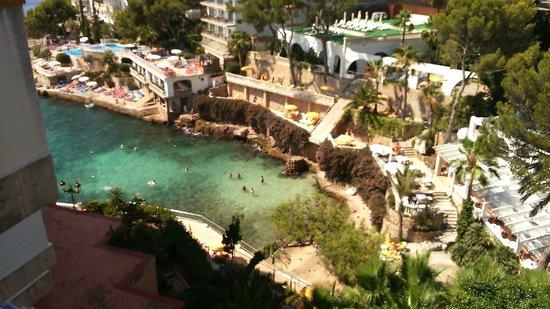 Europe Playa Marina: balcony of reception
