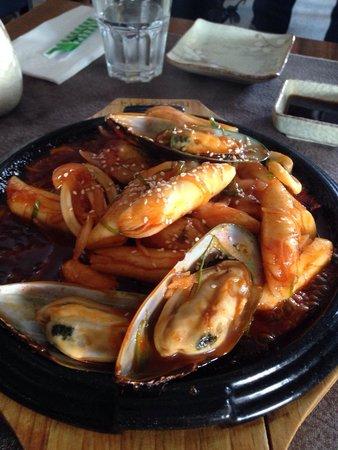 Club Sushi from Tokyo to Seoul: Gnocchi di riso