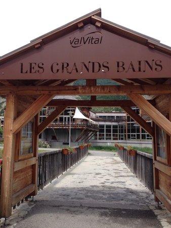 Les Grands Bains de Monetier : Entrer magnifique et décors sublime