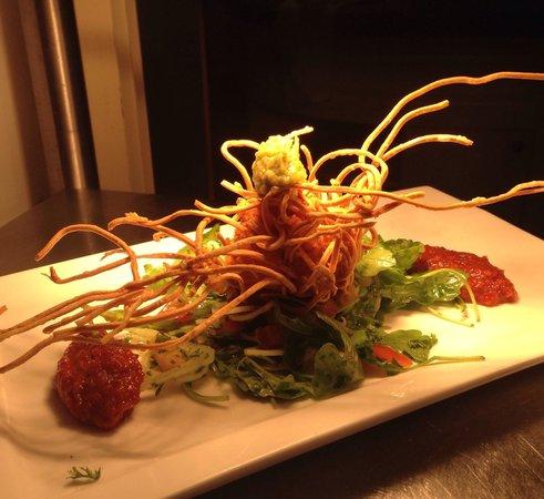 Upstairs @ Joe's: Thai Noodle Fish Cake with Chilli Jam