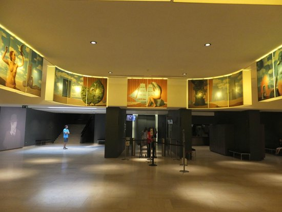 Musee Magritte Museum - Royal Museums of Fine Arts of Belgium : エントランス