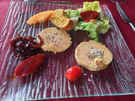 Auberge Gasconne : Fois gras starter