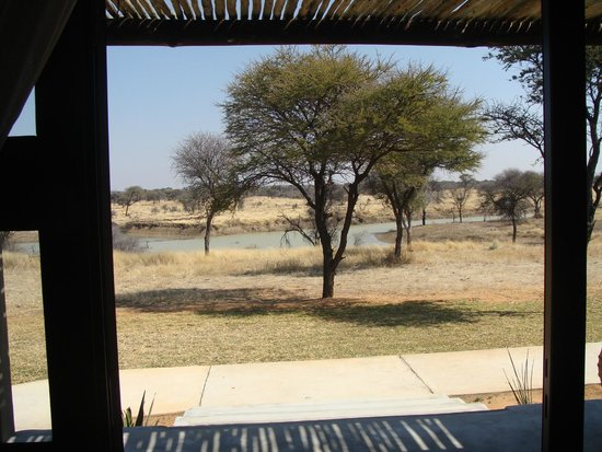 Otjiwa Safari Lodge: View from the Rooms