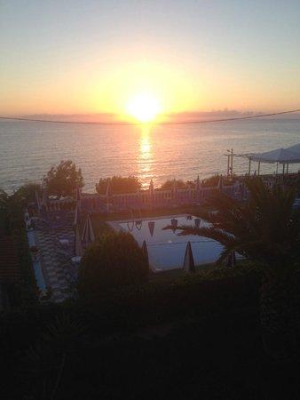 Achillion Apartments: daybreak