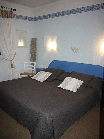 Hôtel le Chalet Fleuri : Chambre twin ou double