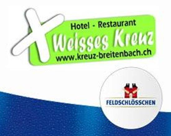 Breitenbach, Schweiz: Weisses Kreuz
