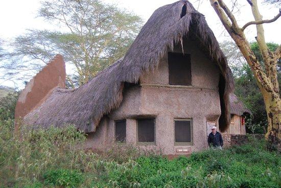 Malewa Wildlife Lodge: Two-room lodge; mine below and my son's above.