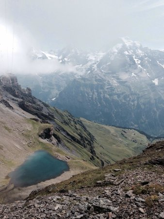 Schilthorn: Descente vers Birg