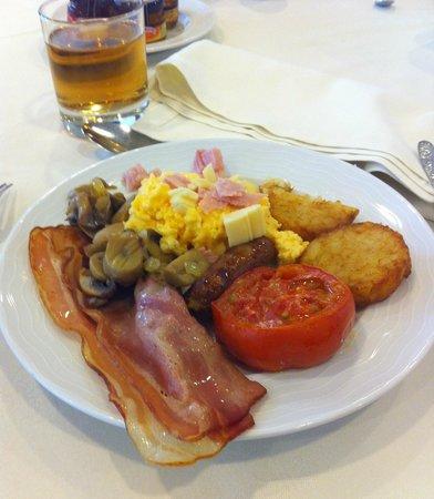 SANA Lisboa Hotel : petit dejeuné coté salé