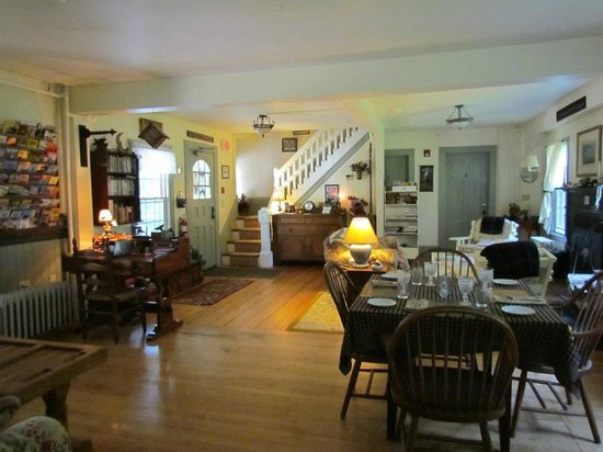 Spruce Moose Lodge and Cottages: salle à manger