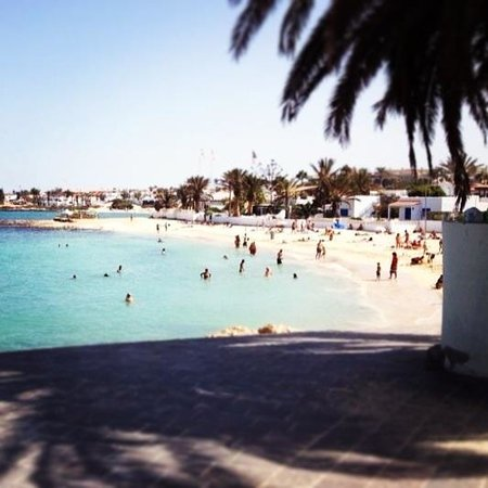 Barcelo Corralejo Bay: A lovely view of the local beach