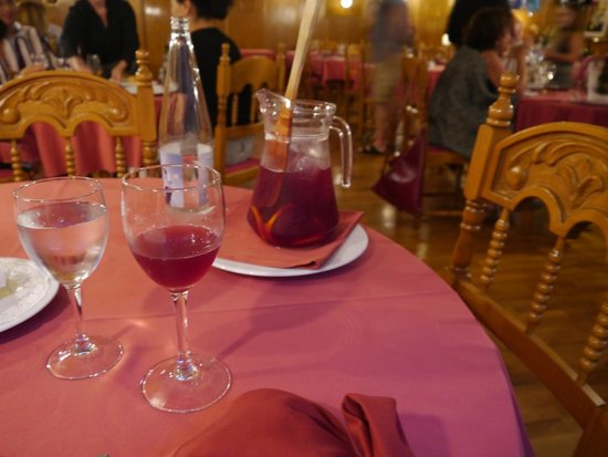 Restaurant Koxkera: Sangria
